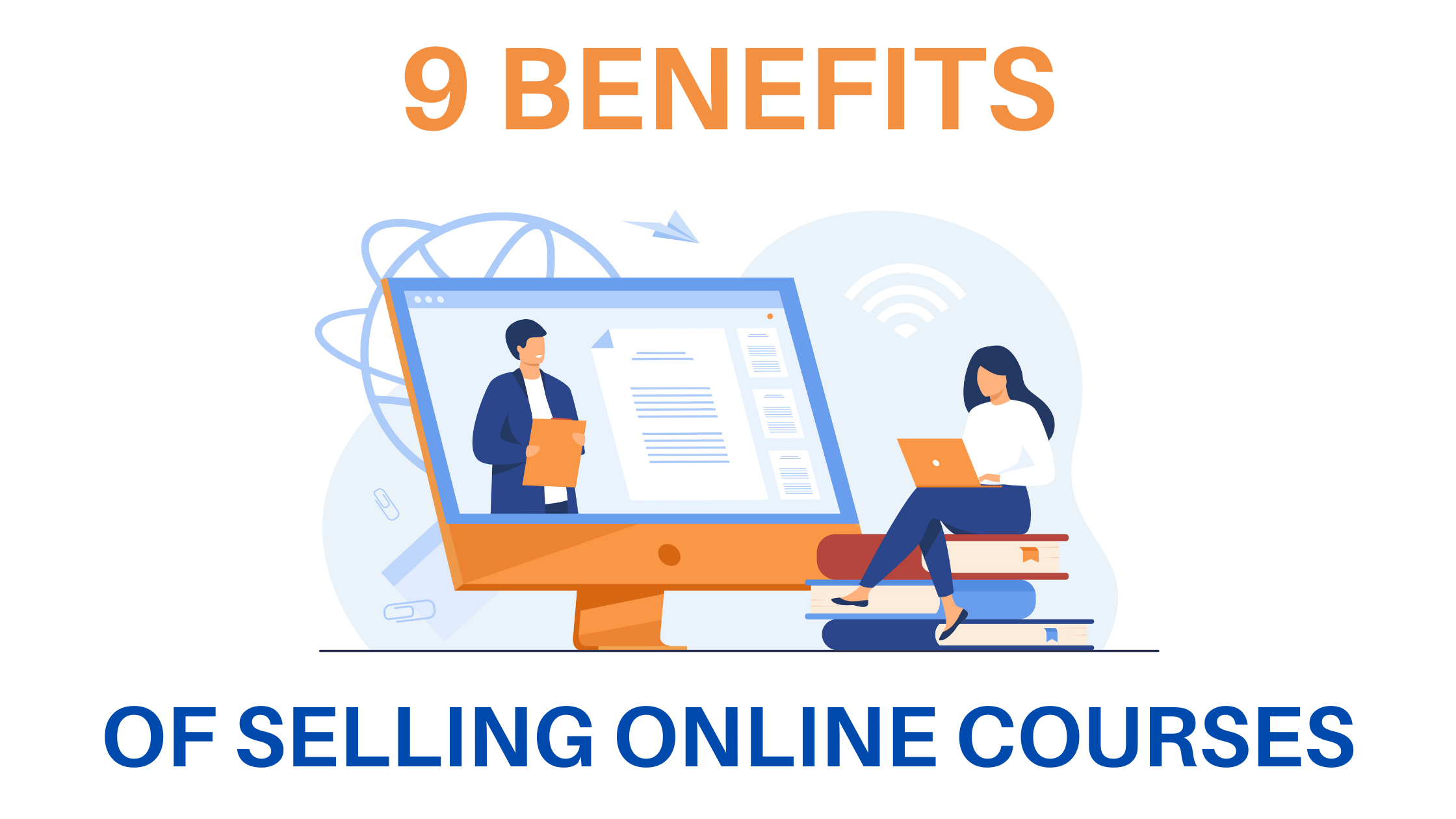 Benefits of selling online courses
